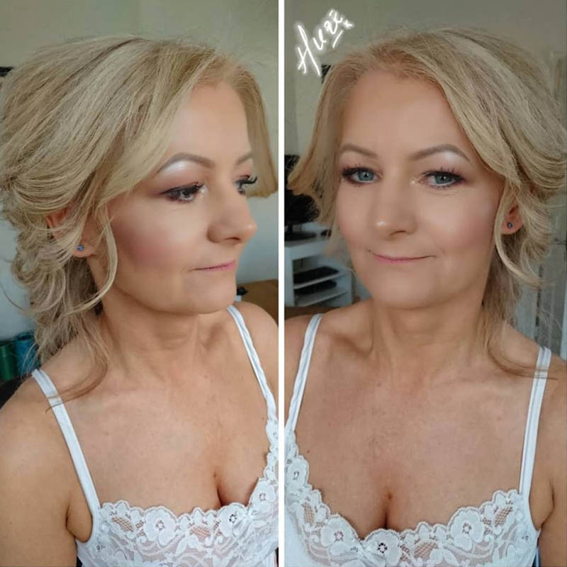 bridal makeup wirral